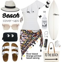 How To Wear Life is always better at the beach! Outfit Idea 2017 - Fashion Trends Ready To Wear For Plus Size, Curvy Women Over 20, 30, 40, 50