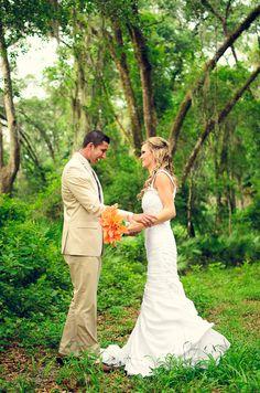 Orange, Hot Pink and Aqua Wedding Inspiration|Katelyn