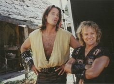 Again, not sure if it's Hercules and Iolaus or Kevin Sorbo and Michael Hurst.