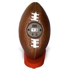 En mi dormitorio, voy a tener un despertador que parece comó un fútbol americano. Christmas Presents For Boys, Flag Football, Man Room, Own Home, No Time For Me, Things That Bounce, Guy Gifts, Alarm Clocks, Miami Dolphins
