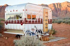 HOME & GARDEN: La métamorphose d'une caravane rétro!