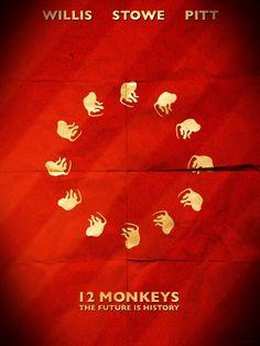 12 Monkeys - movie poster - Hayden Yale