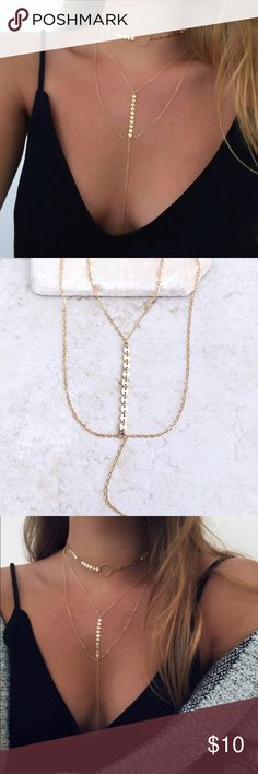 RESTOCKED! Gold Layering Necklace | SUMMER Dainty Summer Style with this Minimalist Layering Necklace!!! Jewelry Necklaces