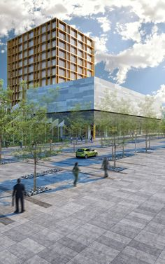 Edificio Metropolitano  Diseño Arq. Miguel Echauri y Arq. Álvaro Morales.  www.echaurimorales.com