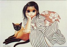 Margaret Keane  beautiful art and one of Jehovah's Witnesses