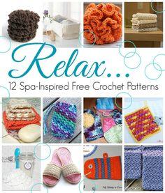 Fiber Flux: Relax! 12 Spa-Inspired Free Crochet Patterns