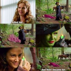 "Zelena - 4 * 1 7 ""Heart of Gold""...this had me like ""what?"""