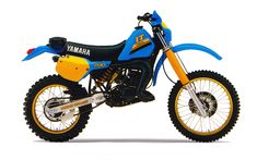 Enduro Vintage, Vintage Motocross, Vintage Bikes, Enduro Motorcycle, Motocross Bikes, Moto Bike, Yamaha Cafe Racer, Yamaha Motorcycles, Motogp Valentino Rossi