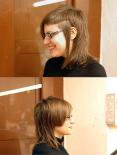haircut middle asymmetric by wip-hairport, via Flickr