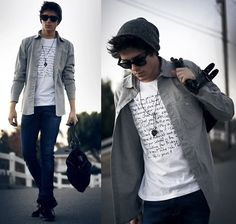 The writer  (by Adam Gallagher) http://lookbook.nu/look/2726051-The-writer