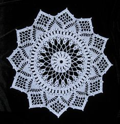 Ravelry: croknit86's Venetian Doily.  Free antique pattern from Corticelli Lessons in Crochet No. 7