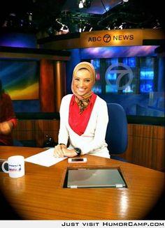 Amerikansk faktare historisk i hijab