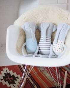 The sweetest elephant for wee ones
