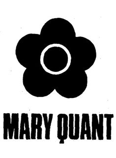 Logo Mary Quant. I still have one of her lipsticks!