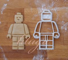 Cute lego man shaped cookie cutter sized (width x height) 2 1/2 x 3 3/4 6 cm x 10 cm  Ready to ship.    BY PURCHASING THIS ITEM YOU AGREE TO OUR POLICIES: https://www.etsy.com/shop/lituga/policy?ref=shopinfo_policies_leftnav   ABOUT OUR PRODUCTS  *SIZING* Individual sizing is included in each listing, please read that info carefully, thanks.  Our cookie cutters are designed to work with dough rolled to 4-5 mm, so your cookie dough should be rolled to 4-5mm for the best imprint results. Not…
