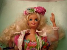 "Teen Talk ""Math Class is Tough"" Barbie - swear I had this one (at least one in the same outfit)"
