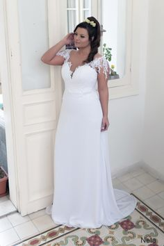 Plus size wedding gowns 2016 neta (1)