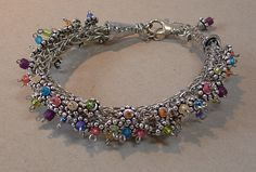 Calypso Viking Knit Bracelet class at Funky Hannah's