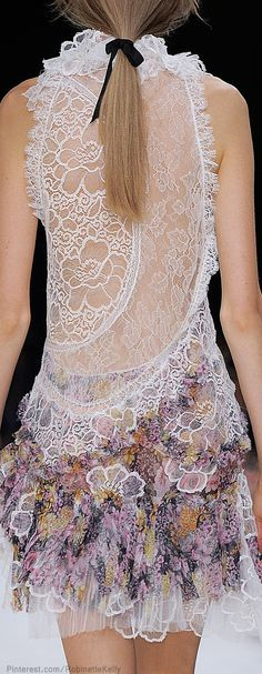 Wow - love it.    Nina Ricci Spring 2014