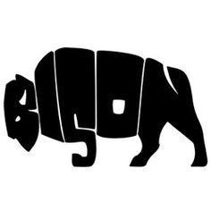 Creative Logo Designs.  Bison.