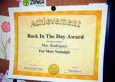 """From """"101 Funny Award Certificates"""" by comedian Larry Weaver."""
