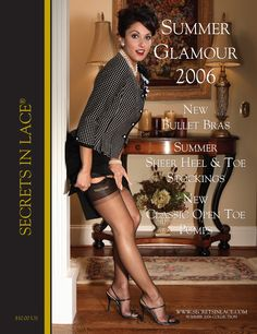 Secrets In Lace Catalog Cover - Summer 2006