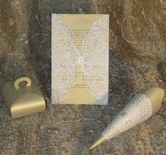 """paper lace wraps """"golden"""" ideas"""
