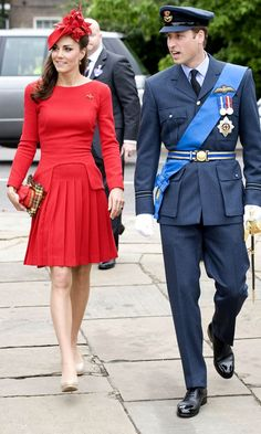 Kate Middleton, Duchess Of Cambridge, Wearing Alexander McQueen At The Queens Diamond Jubilee Celebrations, 2012