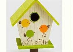 bird house painting ideas - Bing Images #birdhouses