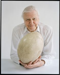 David Attenborough by Tim Walker, Vogue UK, June 2012