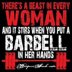 There's a beast in every woman...