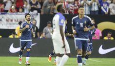 Argentina goleó 4-0 a USA y ya está en la final de la Copa América
