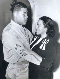 Browse photos of Joe Louis and Marva Trotter Black History Facts, Black History Month, Black Couples, Couples In Love, My Black Is Beautiful, Black Love, Cult Of Personality, Joe Louis, Boxing Champions