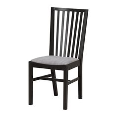 IKEA - NORRNÄS, Chair, Solid beech is a durable natural material.You sit comfortably thanks to the high shaped back.Padded seat for increased sitting comfort.