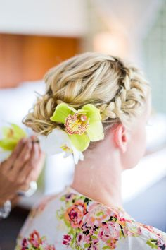 orchids - Mexico Wedding at Le Reve Hotel and Spa from Rensche Mari