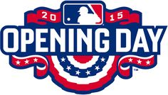 MLB Opening Day Primary Logo (2015) - MLB 2015 Opening Day Logo