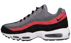 Nike Air Max 95 | Cool Grey, Black & University Red