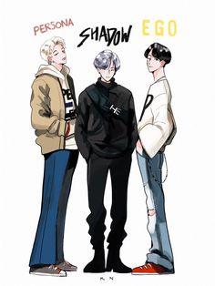 shadows of bts Fanart Manga, Fanart Bts, Manga Art, Bts T, K Pop, Bts Anime, Min Yoonji, K Wallpaper, Rap Lines