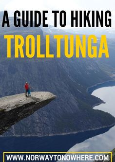 Everything you need to know about the hike to Trolltunga, a cliff rock jutting out about 700 meters above lake Ringedalsvatnet in Norway. | Norway to Nowhere