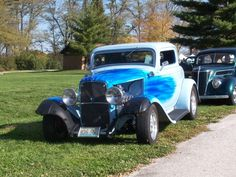 1932 Ford 3 window  Full Fender Coupe