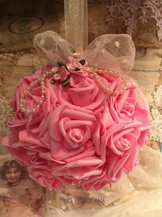 ROSES LACE & PEARLS by TeasHopeChest on Etsy