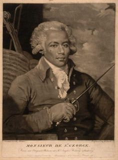 Chevalier de Saint-Georges (1745-1799) was one of the earliest musicians of African ancestry in the world of European classical music.
