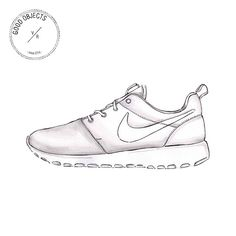 Line Search Nike Ed Clipart Art Google Shoe Shoes Drawing Pffgwq15
