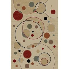 Found it at AllModern - Gem Balloons Ivory Contemporary Rug