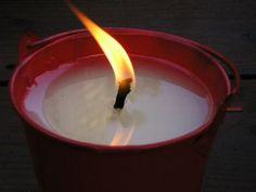 Make Outdoor Citronella Bucket Candles