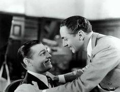 Clark Gable & William Powell in Manhattan Melodrama (1934).