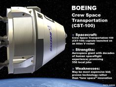 NASA has chosen Boeing and SpaceX, private companies developing technologies to deliver a crew of four to the International Space Station. Century 21 Ocean