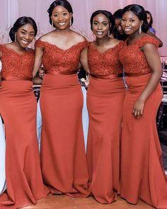 Burnt Orange Bridesmaid Dresses, Empire Bridesmaid Dresses, Mermaid Bridesmaid Dresses, Elegant Bridesmaid Dresses, Mermaid Dresses, Wedding Party Dresses, Formal Wedding, Wedding Bridesmaids, Prom Dress