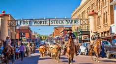 Fort Worth Stockyards.. Good online fort worth travel guide