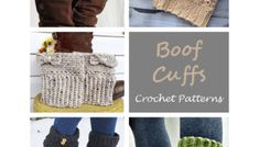 Mittens Crochet Patterns – Great Cozy Gift - A More Crafty Life Crochet Boots, Crochet Gloves, Crochet Scarves, Crocheted Hats, Crochet Boot Cuff Pattern, Crochet Basket Pattern, Crochet Patterns, Knitted Headband, Crochet Headbands